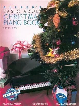 Alfred's Basic Adult Piano Course Christmas Book 2