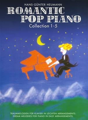 Romantic Pop Piano Collection 1-5