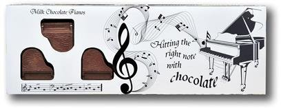 Belgian Milk Chocolate Box Of Pianos - 8